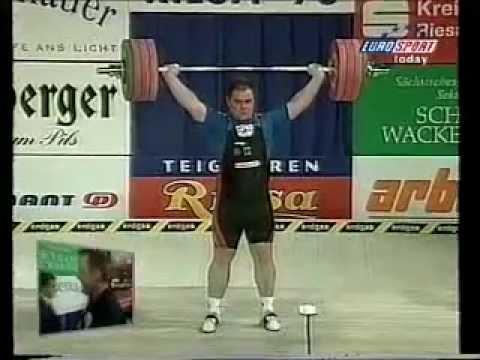 1998 Europeans Super heavy Snatch