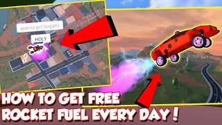 HOW TO GET FREE ROCKET FUEL EVERY DAY IN ROBLOX JAILBREAK- New Jailbreak Update