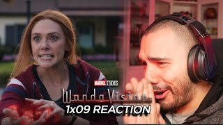 WandaVision 1x09 REACTION - THE END