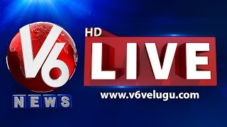 V6 News LIVE  | Telugu Live TV Channel | V6 News