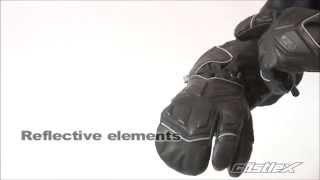 Castle X : TRS 3-Finger Glove : Men's and Women's