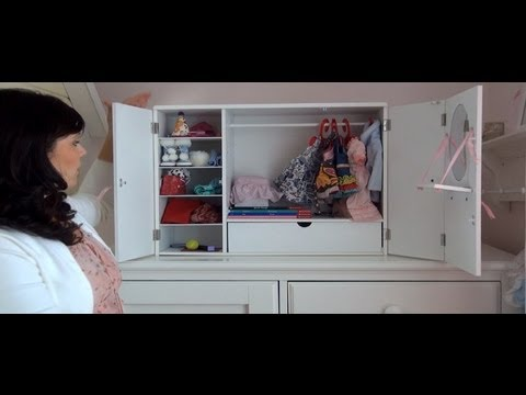 Budget Friendly Alternative To American Girl Storage Cabinet