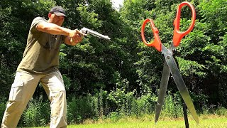500 Magnum vs GIANT Scissors ✂