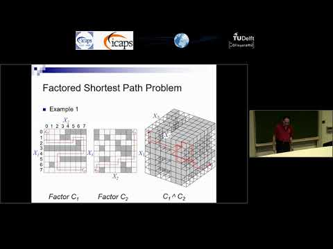 "ICAPS 2018: Sven Koenig on ""The Factored Shortest Path Problem and Its Applications in Robotics"""