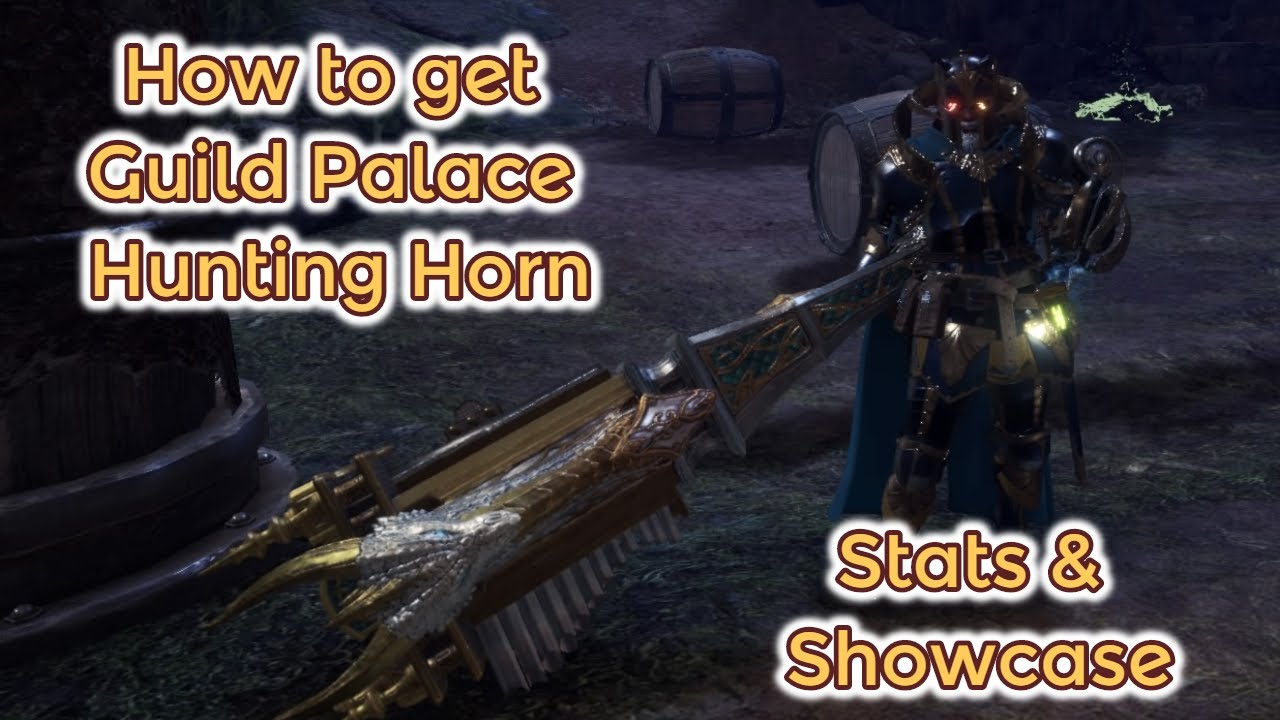 How To Get Royal Song Symphony Guild Palace Hunting Horn Stats
