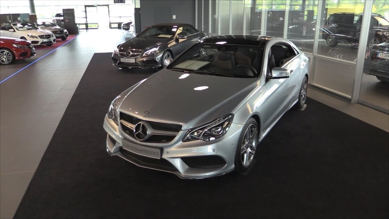 mercedes benz e class coupe 2015 in depth review interior exterior youtube. Black Bedroom Furniture Sets. Home Design Ideas