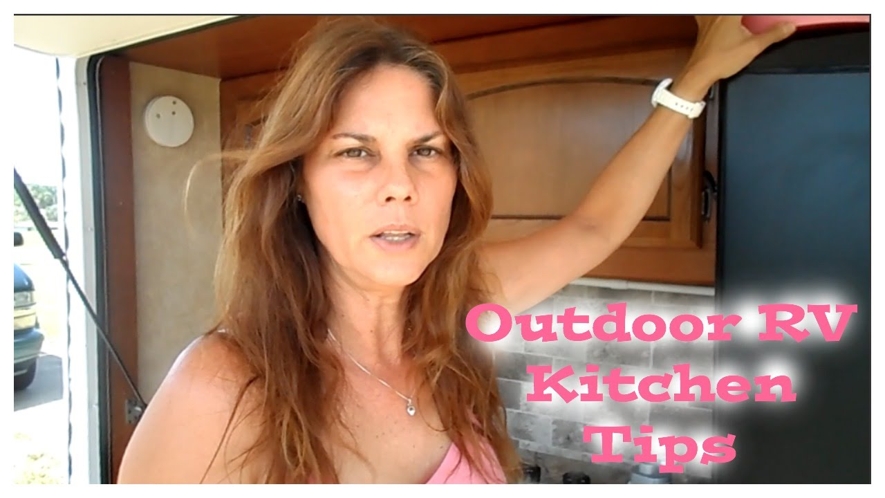 RV Must Have Outdoor Kitchen Items You Cant Afford To Be Without