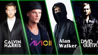 Alan Walker, Avicii, David Guetta, Calvin Harris Top Mix | Best Edm Songs