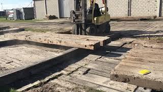 Eucalyptus Pipeline Mat One Year Concrete Plant Test