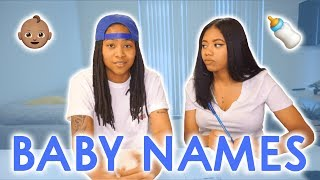 BABY NAMES WE LOVE BUT WON'T BE USING + BABY NAME REVEAL?!