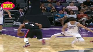 Cj mccollum breaks justin jackson ankle with the jab step -trail blazers vs kings |oct 9, 2017
