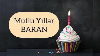 İyi ki Doğdun BARAN - İsme Özel Doğum Günü Şarkısı COVER