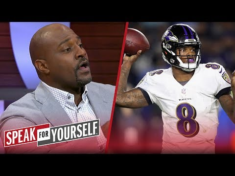 Marcellus Wiley has more confidence in Lamar Jackson than Dak Prescott | NFL | SPEAK FOR YOURSELF