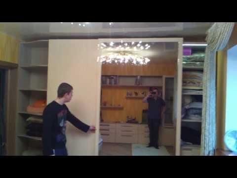 Шкаф купе с подвесной системой Hettich TOP-LINE . Идея Студия Днепропетровск ( IDEA STUDIO )КИЕВ.