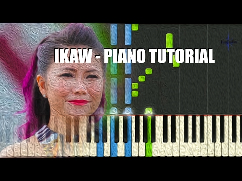 IKAW - PIANO TUTORIAL - YENG CONSTANTINO