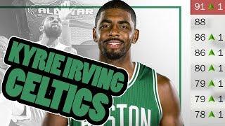 KYRIE IRVING CELTICS! NEW YOUTH! 2018 Celtics Rebuild NBA 2K17