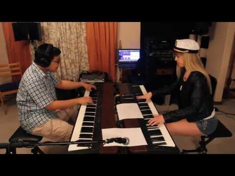 Lara and Jonathan play a Village People medley on piano! YMCA!