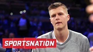 Kristaps porzingis planning escape from new york? | sportsnation