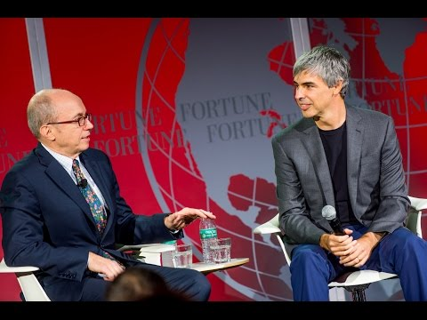Larry Page Talks Alphabet, Warren Buffett and Project Loon at Fortune Global Forum 2015 | Fortune