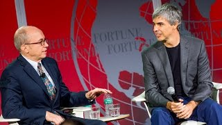 Larry Page Talks Alphabet, Warren Buffett and Project Loon at Fortune Global Forum 2015   Fortune