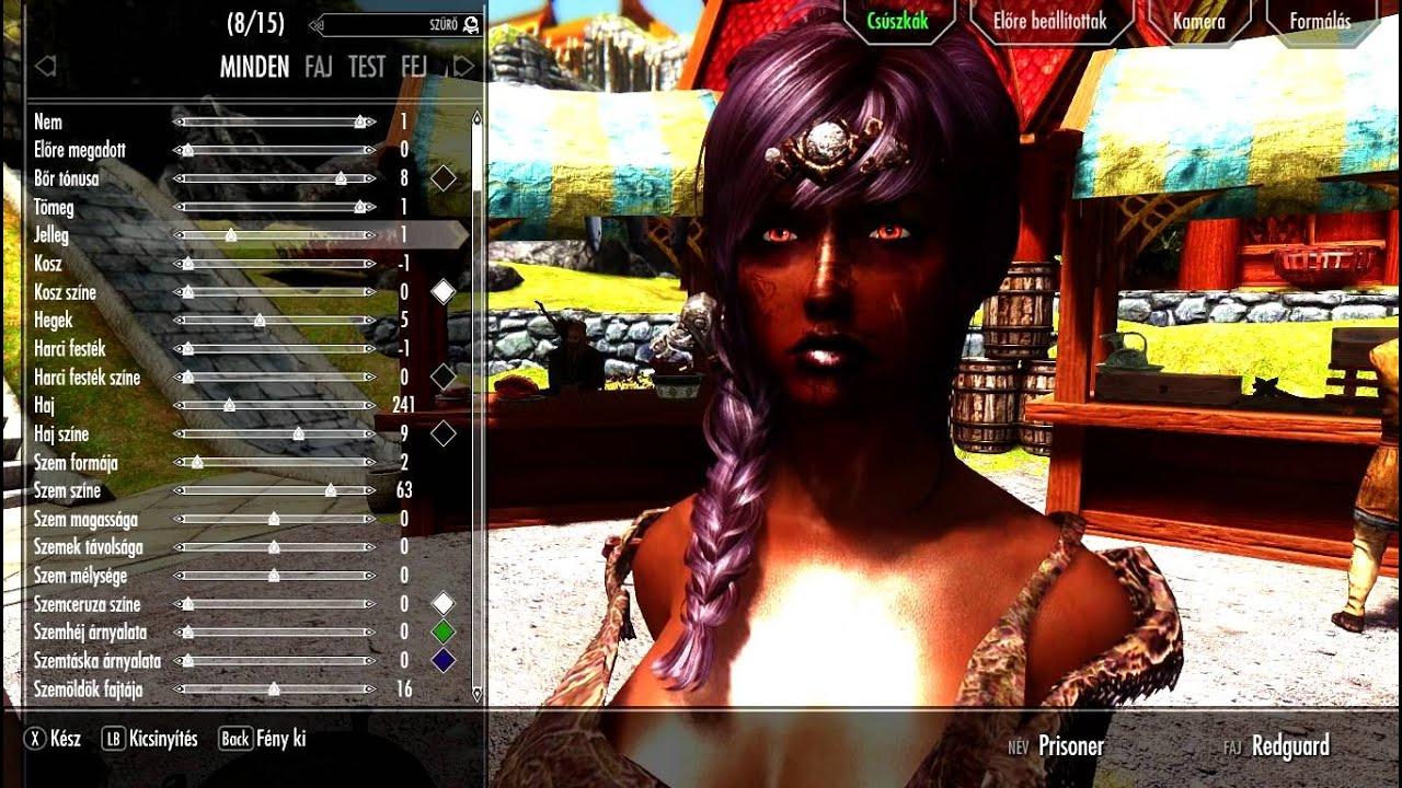 Skyrim Neck seam fix with UNP Texture Blender for Demoniac