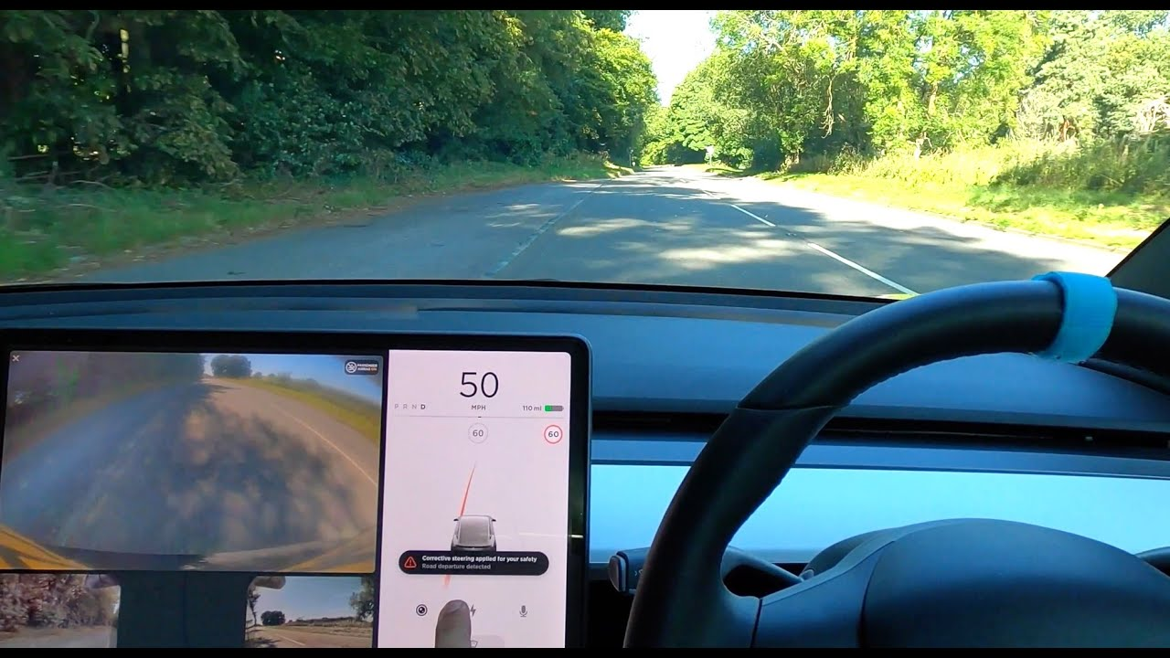 Testing Tesla Model 3 *HIDDEN* Autopilot Safety Features in NEW 2020.28.5 Update