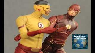 DCTV The Flash TV Series DC Collectibles Kid Flash & Season 3 Flash Figures Review