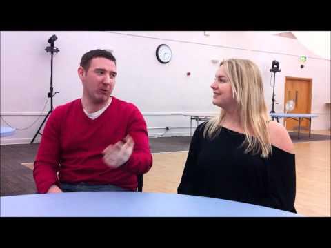 BT Storyteller, Samantha Pain, interviews Wheelchair Basketball Player, Matthew Calverley