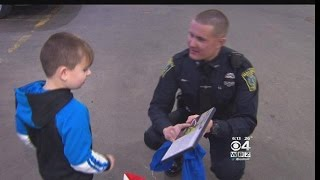 Police Officer's Small Gesture Makes Big Difference For Malden Boy