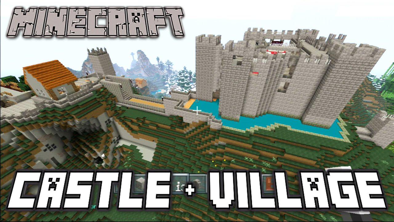 Epic Minecraft Castle Tutorial
