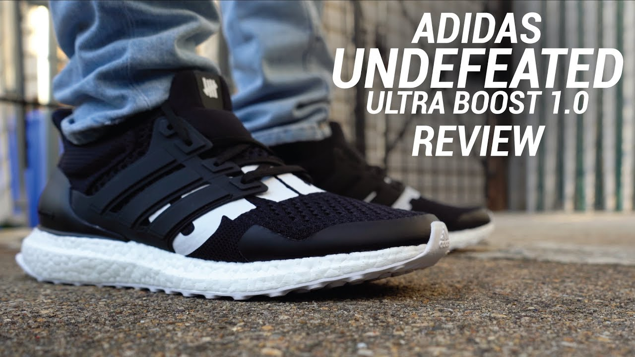 quality design 5e262 f1c86 ADIDAS ULTRA BOOST 1.0 UNDFTD REVIEW - YouTube