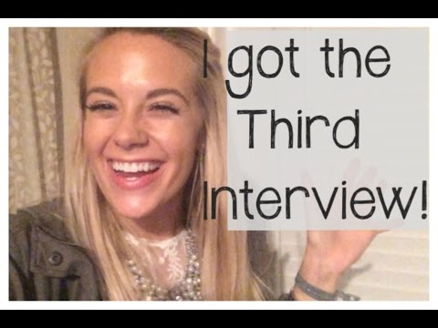 I got the third interview!! Vlog #92