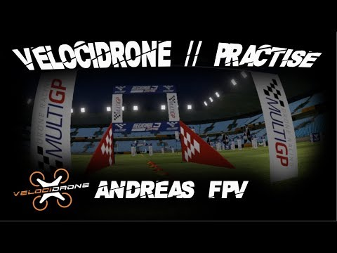 Drone Racing // Velocidrone Practise - Multicopter