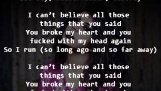Charli XCX  So Far Away (Lyrics on Screen)
