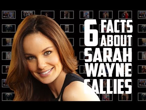 6 Things You May Not Know About Sarah Wayne Callies of