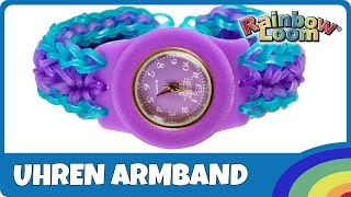 YouTube - Rainbow Loom Uhren-Armband