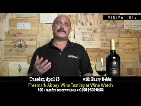 Freemark Abbey Wine Tasting at Wine Watch - click image for video