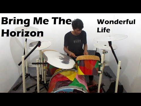 Bring Me The Horizon - Wonderful Life - feat Dani Filth - Drum Cover By Janu Fitriadi