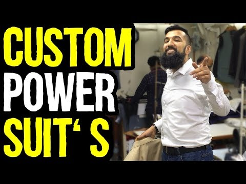 How I Buy My Custom Made Suit's In Dubai, UAE | Better Than Branded Suits | Azad Chaiwala Show
