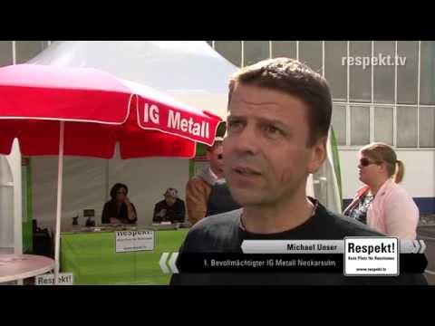 Absichtserklärung beim Familienfest der KSPG in Neckarsulm