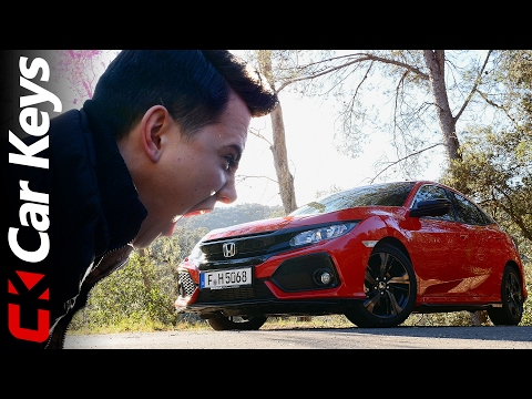 Honda Civic 2017 Review - New Drive, New Face, New Model - Car Keys