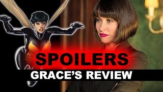 Ant-Man Movie Review SPOILERS - The Wasp Cameo, End Credits Scenes - Beyond The Trailer