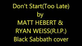 Matt Hebert/Ryan Weiss - Don