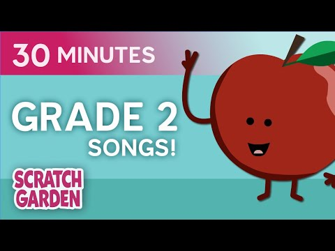 Grade 2 Songs! | Learning Song Collection | Scratch Garden