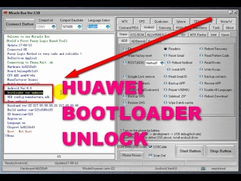 Huawei bootloader unlock without code