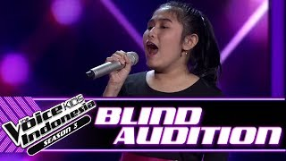 Aisha - To Love You More | Blind Auditions | The Voice Kids Indonesia Season 3 GTV 2018