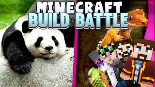 Minecraft Build Battles - Panda and Lizard