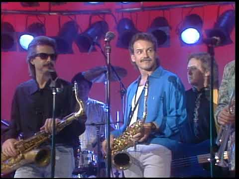 American Bandstand 1988- Interview Billy Vera and the Beaters