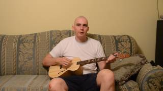 Homemade guitar   DGBE tuning with low D
