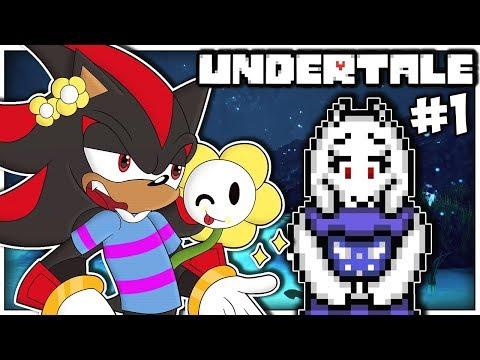 Shadow Plays Undertale Part 1 - THE JOURNEY BEGINS!!